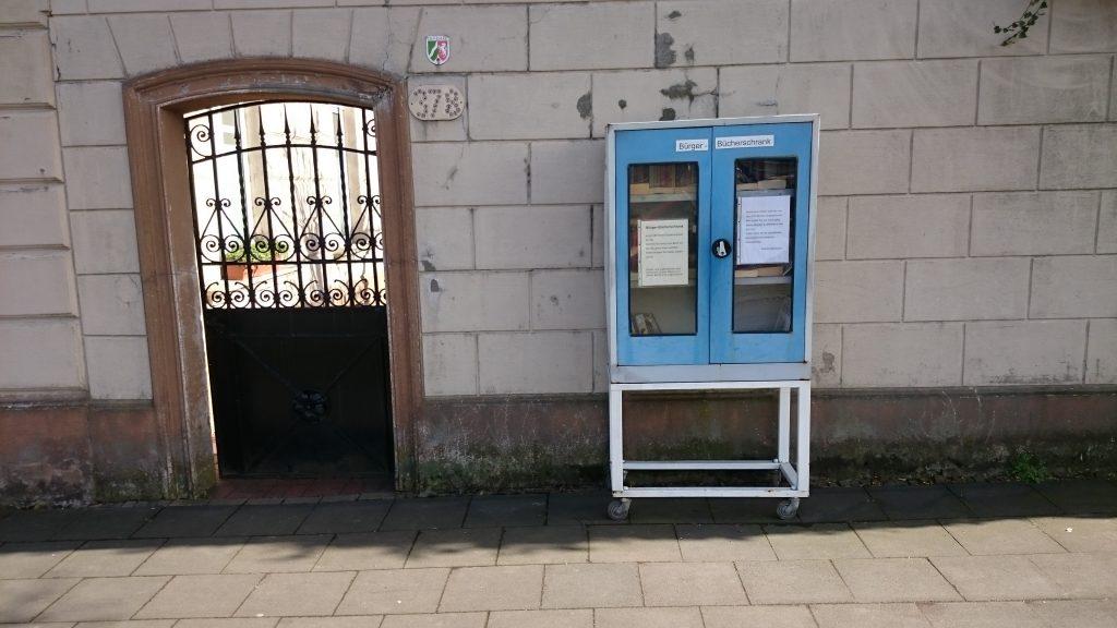 Öffentliche Bücherschränke | Mülheimer Senioren-Kompass