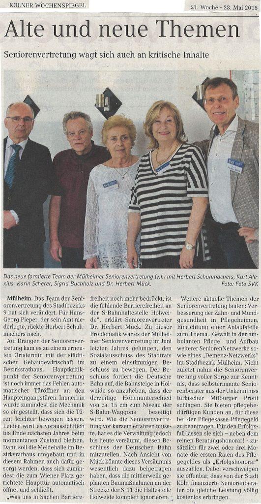 Köln Wochenspiegel